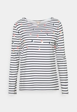 BRADLEY PRINT - Long sleeved top - offwhite coast