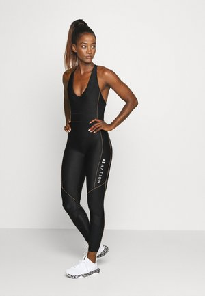 DRIVE FORCE CAT SUIT - Gym suit - black/orange