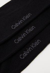 Calvin Klein Underwear - MEN LINER 3 PACK - Calzini - black - 2
