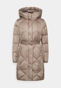 Lauren Ralph Lauren - MATTE FINISH COZY BELTED COAT - Down coat - taupe - 0