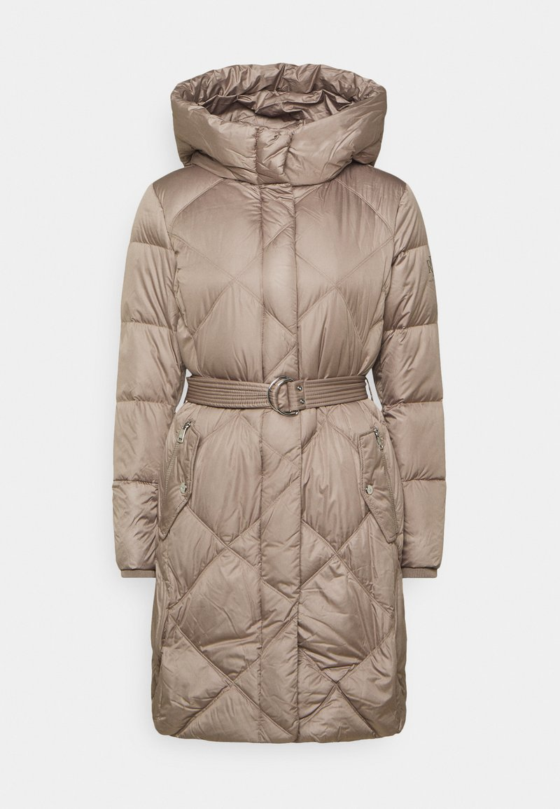 Lauren Ralph Lauren - MATTE FINISH COZY BELTED COAT - Down coat - taupe