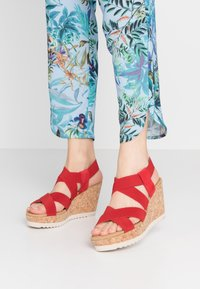 Gabor - High heeled sandals - flame - 0