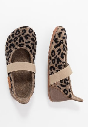 BALLET HOME SHOE - Domácí obuv - brown
