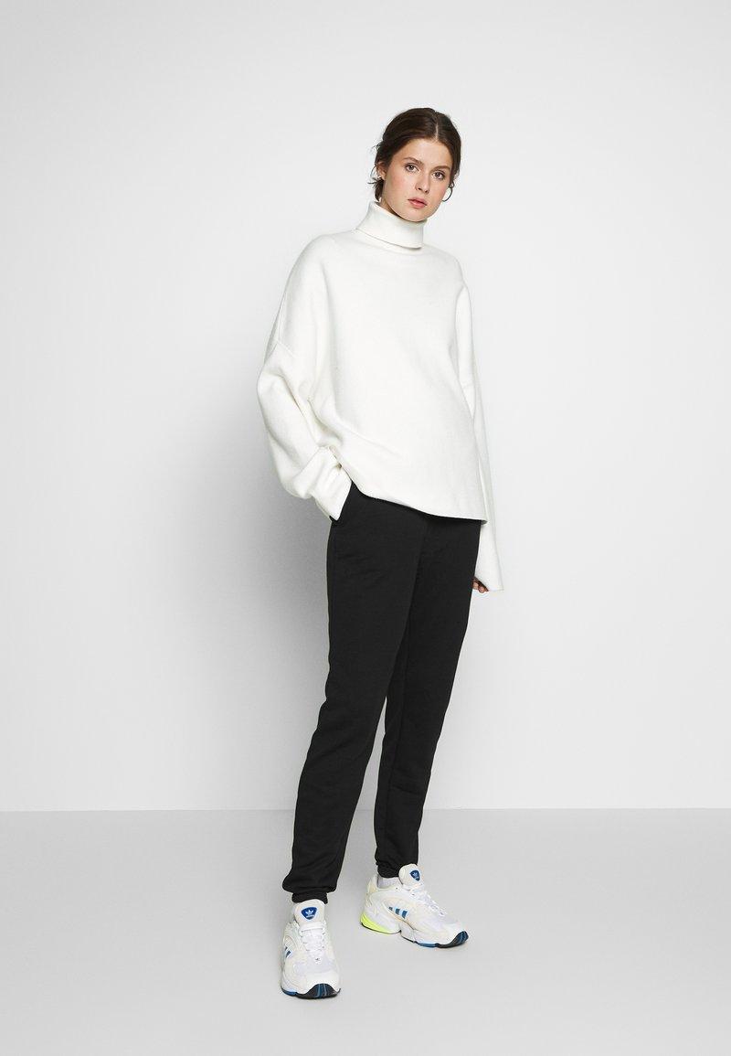 Missguided Tall - BASIC 2 PACK - Pantalon de survêtement - black/grey marl