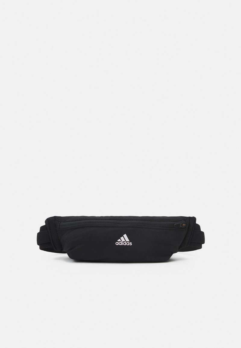 adidas Performance - RUN BELT UNISEX - Bum bag - black/white