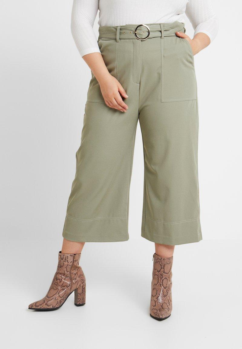 River Island Plus - Trousers - khaki