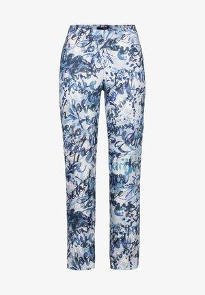 LOLI-742 95007 STRETCHHOSE DRUCK - Trousers - blau