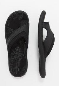 Columbia - KEA II - Sandalias de dedo - black/grey steel - 1