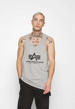 BASIC TANK - Top - grey heather