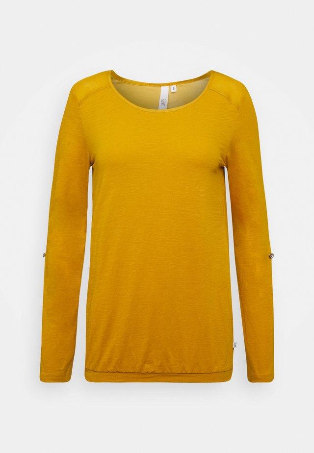 Camiseta de manga larga - golden yellow