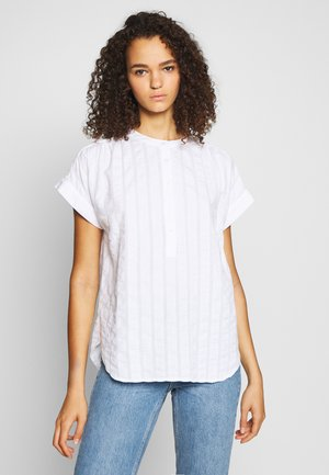 SHIRRED EASY POPOVER DOBBY - Blouse - fresh white