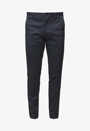 SLHSLIM-AIDEN - Trousers - navy blue
