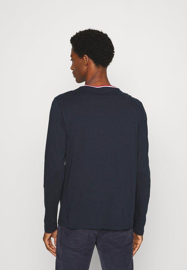 Pier One Bluzka z długim rękawem - dark blue/granatowy Odzież Męska YXME
