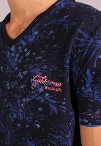 Gabbiano - Print T-shirt - navy - 3