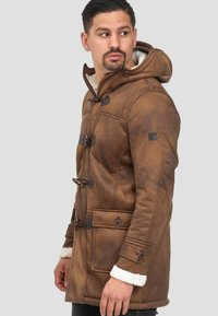 INDICODE JEANS - Winter coat - brown sugar - 4