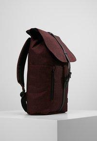 Spiral Bags - TRIBECA - Batoh - crosshatch burgundy - 3
