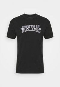 NEW YORK TEE - Print T-shirt - black