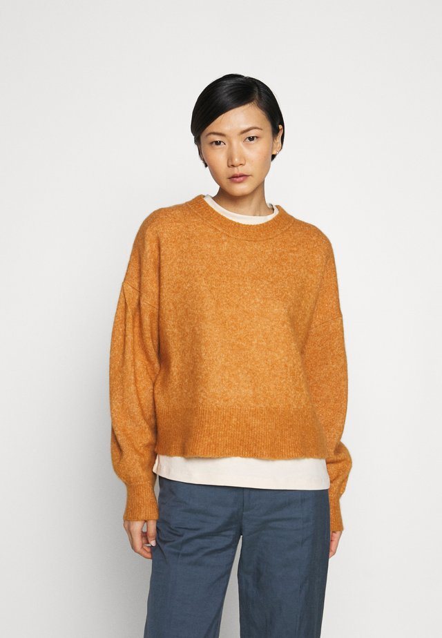 EKEBERG - Jumper - ocher yellow