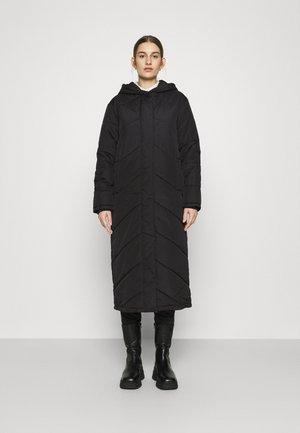 SLFJANNA PUFFER COAT - Płaszcz wełniany /Płaszcz klasyczny - black