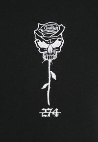 274 - SKULL ROSE HOODIE - Sweatshirts - black - 5