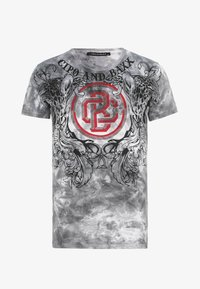 Cipo & Baxx - Print T-shirt - anthracite - 6