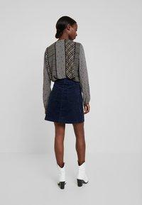 TOM TAILOR DENIM - A-line skirt - real navy blue - 2