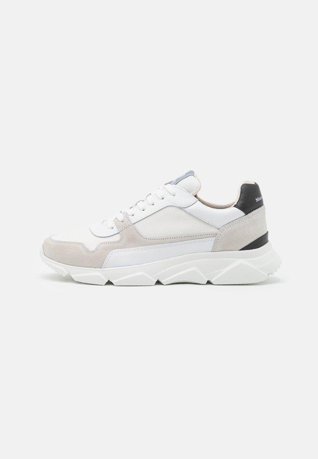 WERNER - Sneakers laag - offwhite/black