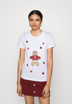 CHRISTMAS - T-shirts med print - bright white