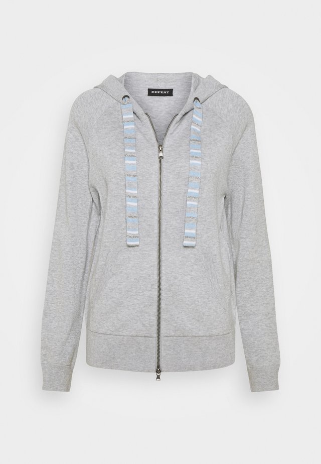 CARDIGAN - Strickjacke - soft grey