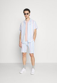 Tommy Jeans - STRIPE - Shorts - light powdery blue - 1
