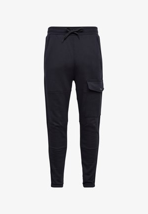 SIDE STRIPE UTILITY - Tracksuit bottoms - mazarine blue