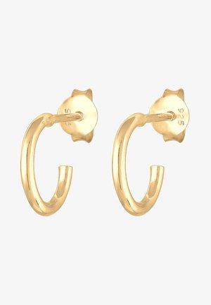 TIMELESS - Earrings - gold-coloured