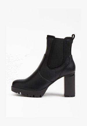 SABINA STRETCHEINSATZ - High heeled ankle boots - schwarz