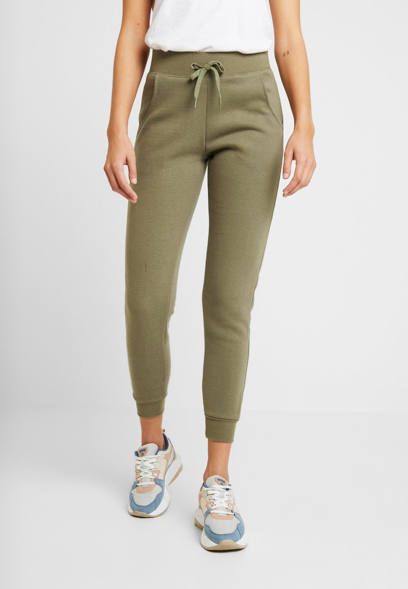 New Look - BASIC BASIC  - Tracksuit bottoms - dark khaki