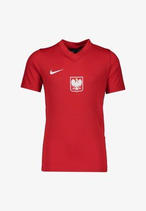 NATIONALTEAMS POLEN TRAIN - Koszulka reprezentacji - rot