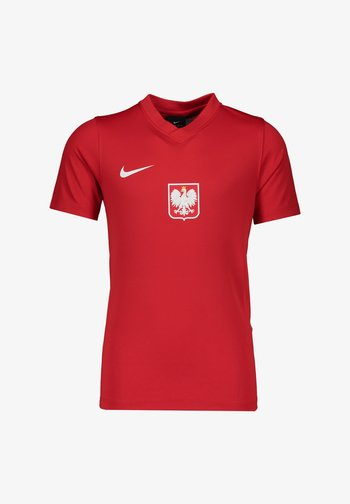 NATIONALTEAMS POLEN TRAIN - National team wear - rot