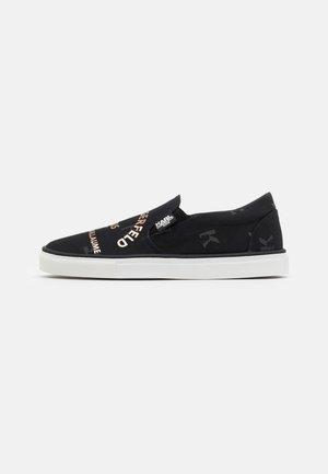 LOAFER - Sneakers laag - black