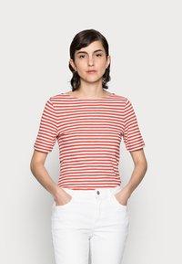 Marc O'Polo - Print T-shirt - burnt orange - 0