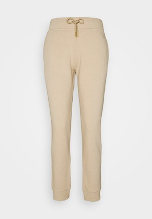 LUX TRACK PANTS - Tracksuit bottoms - camel