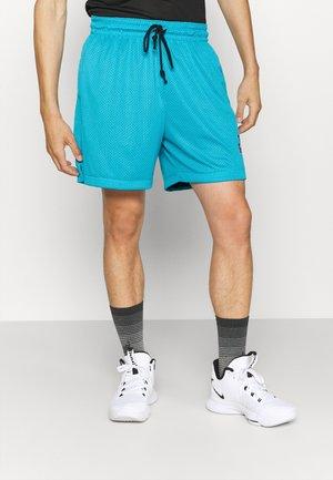 SPACE JAM STANDARD ISSUE REVERSIBLE SHORT - Sports shorts - light blue fury/black