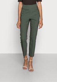 InWear - ZELLA SHAPE  - Trousers - green olive - 0