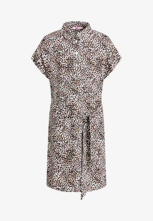 MET STREEPDESSIN - Shirt dress - multi-coloured
