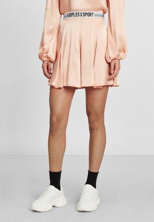 A-line skirt - peach
