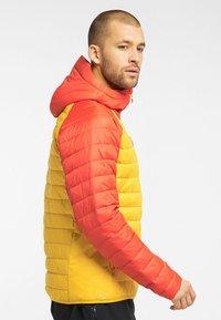 Haglöfs - SPIRE MIMIC HOOD  - Winter jacket - pumpkin yellow/habanero - 2