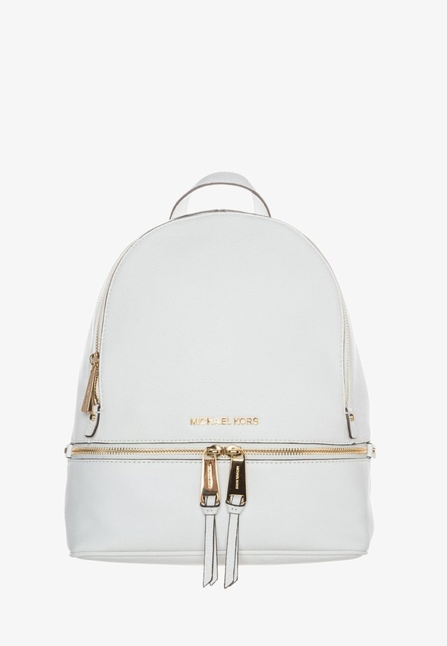 RHEA ZIP BACKPACK SMALL - Reppu - optic white