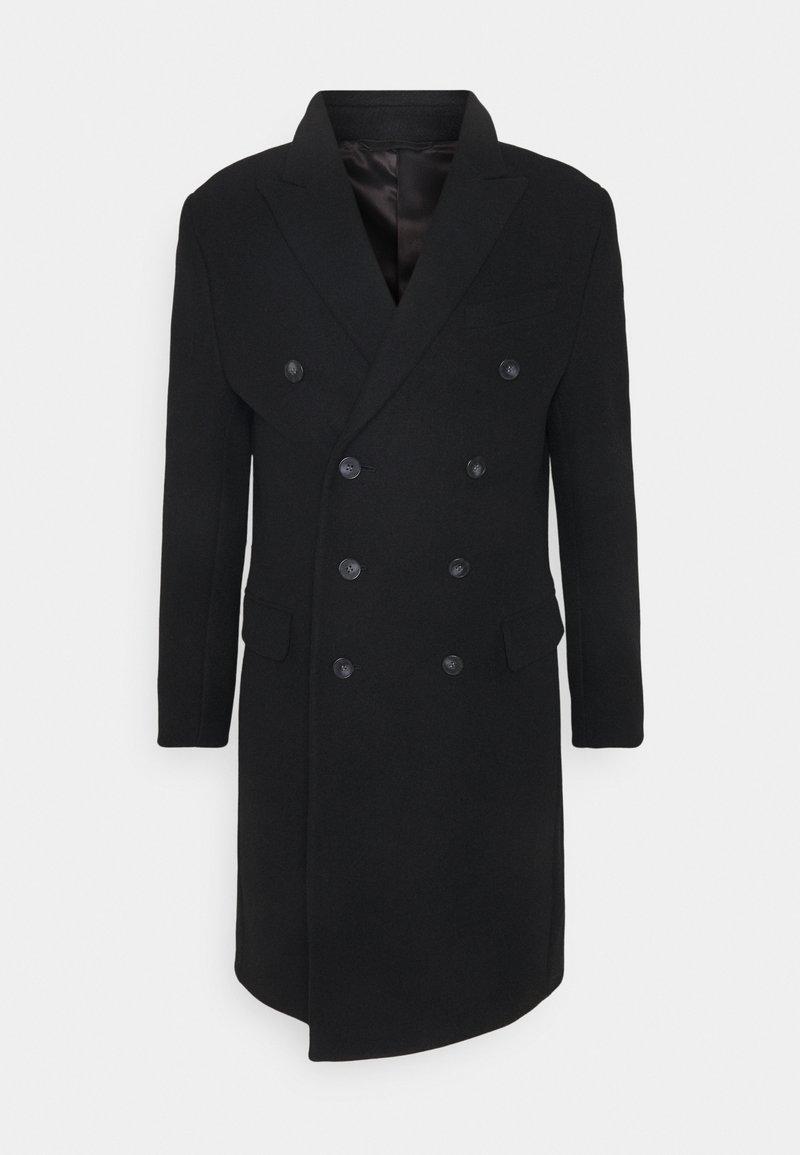 Isaac Dewhirst - Classic coat - black
