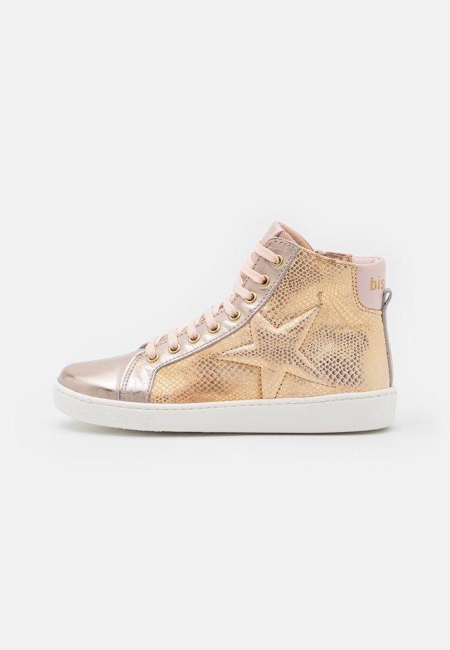GAIA - Sneakers hoog - creme