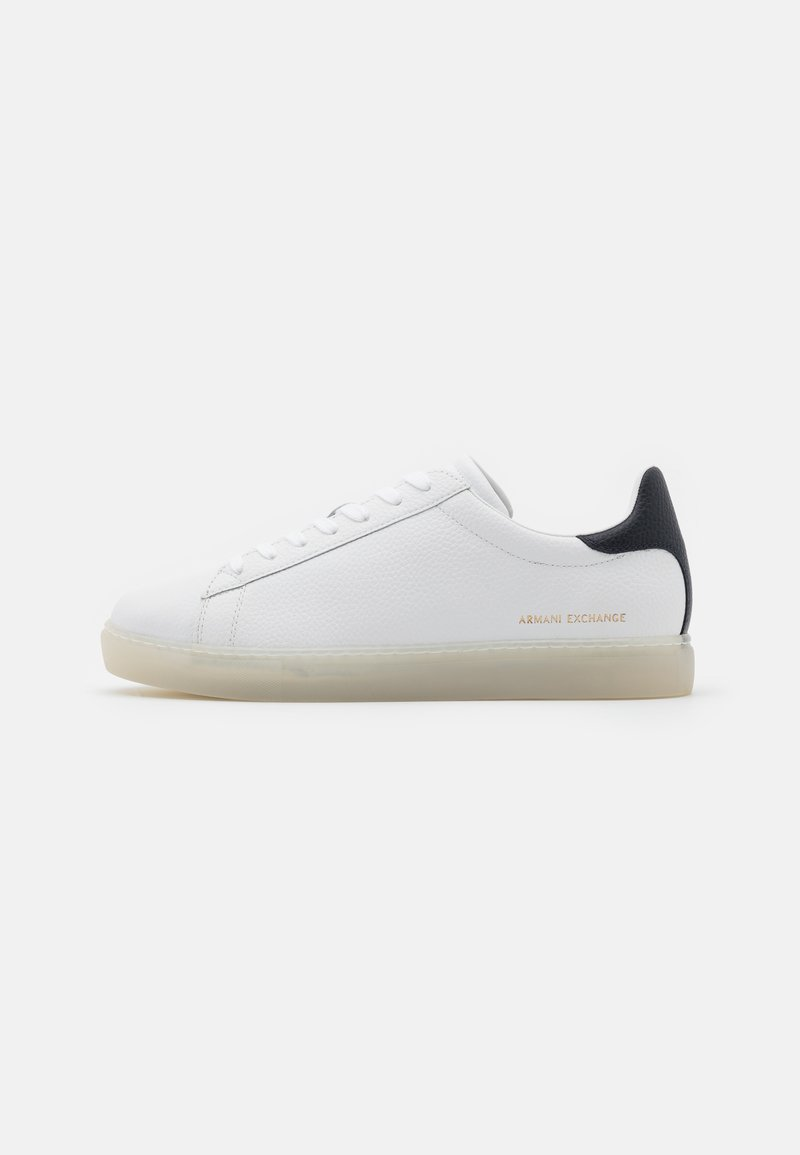 Armani Exchange - CLEAN CUPSOLE - Trainers - white