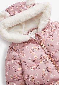 Next - Snowsuit - pink - 2