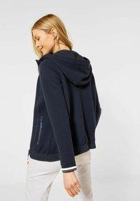 Cecil - Zip-up hoodie - blau - 0